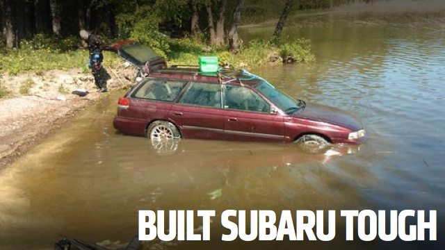 This Subaru Started After Sitting On The Bottom Of A Lake For Three Months