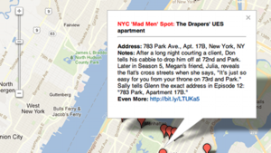 Mad Men Map Shows You Where Don Drank and Dined