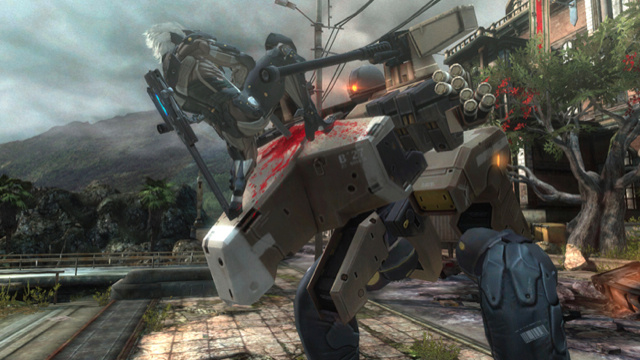 Metal Gear Rising: Revengeance Screens Are Bloody, Pointy, and Dangerously Cool