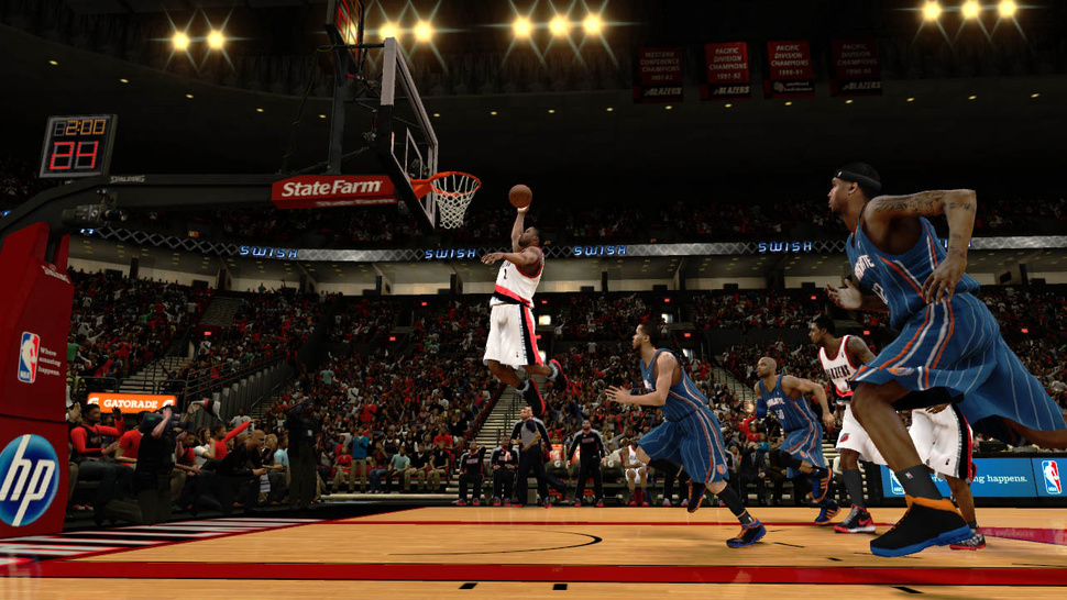 Sizing Up Its Competition, <em>NBA 2K13</em> Will Stick to the Way It Plays the Game