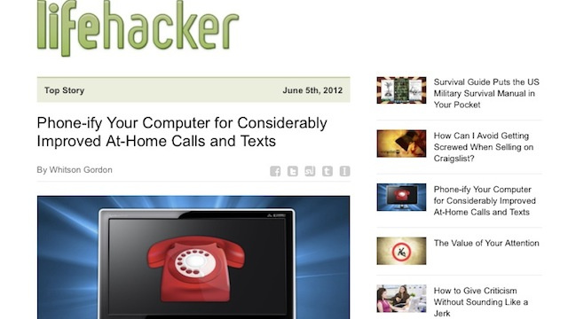 Subscribe to Our Newsletter for a Dose of Lifehacker In Your Inbox Every Night