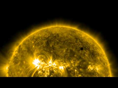 Click here to read Venus Has Crossed the Sun For the Last Time Until 2117