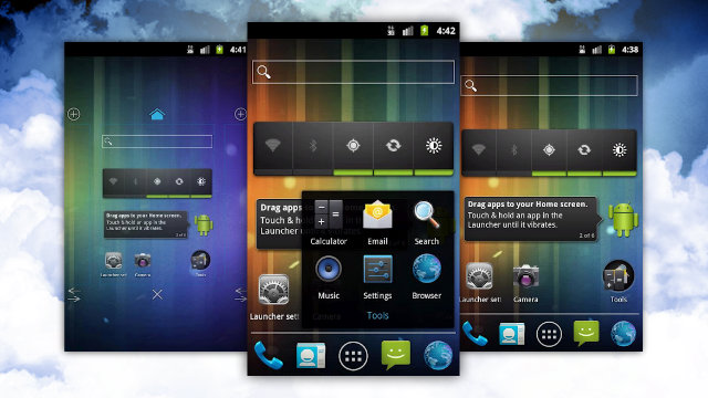 Click here to read Holo Launcher Brings the Ice Cream Sandwich Launcher to Any Android Phone