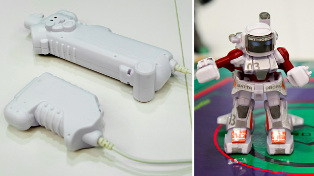 Wireless Rock 'Em Sock 'Em Robots Are Real Steel in Miniature