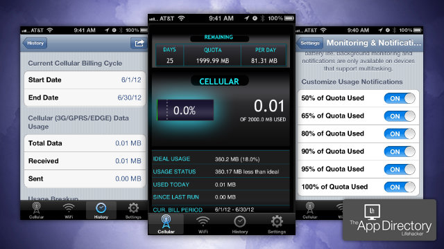 The Best Data Usage Tracker for iPhone