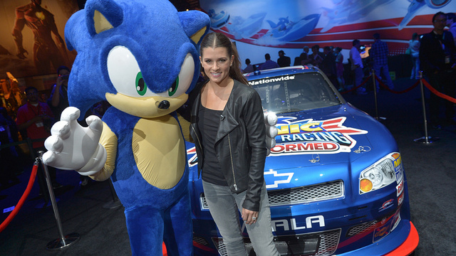 Play As Danica Patrick In The New Sonic Game