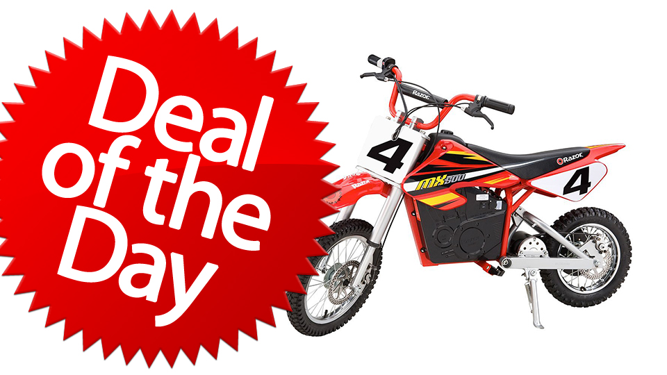 This Razor Dirt Rocket Bike Is Your Hog Wild Deal of the Day [Dealzmodo]