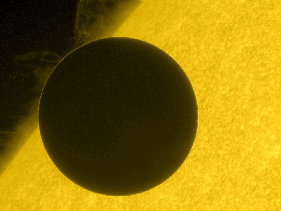The Transit of Venus as You Definitely Haven't Seen It Before