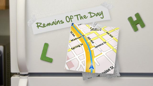 Click here to read Remains of the Day: Google Wants to Bring all of Maps' Features to iOS, Other Platforms