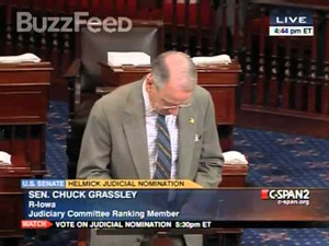 Will Someone Please Teach Chuck Grassley How to Put His iPhone on Silent?