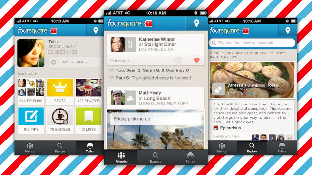 Click here to read Foursquare Updates with New Design, Recommendations, and More