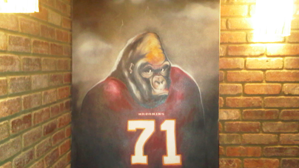Trent Williams Owns A Painting Of Himself As A Gorilla, Because Of Course He Does