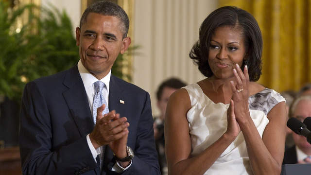 Did President Obama Make a Blow Job Joke About his Wife?