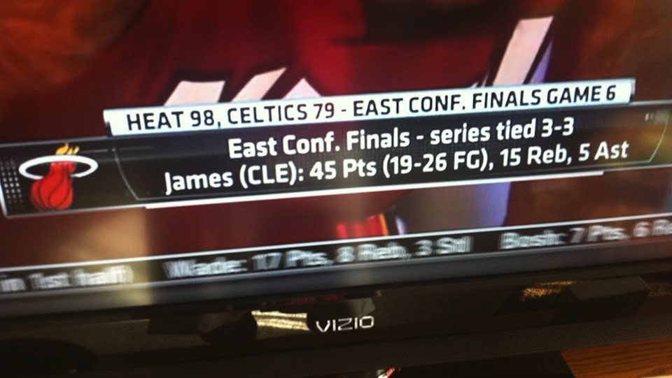 Memo to ESPN:  LeBron James left Cleveland two years ago (Photo)