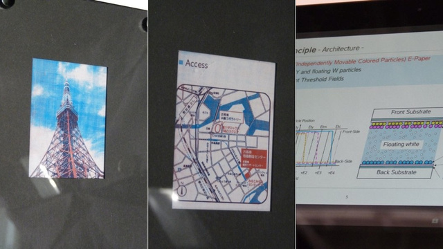 Fuji Xerox Has Made a Color E-Paper That Doesn't Need a Filter