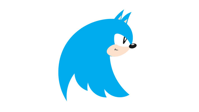 Twitter's New Logo Is Sonic The Hedgehog