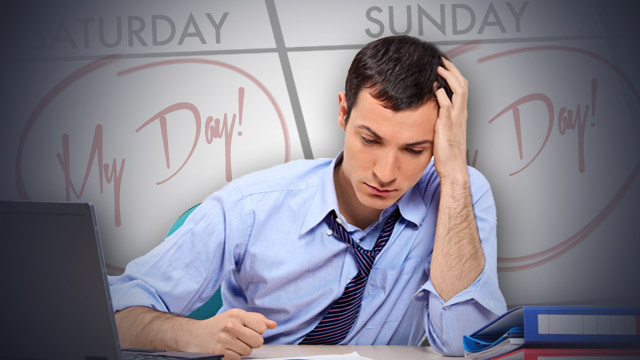 How Can I Stop My Boss From Ruining My Weekends?