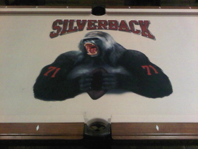 "Here's The Rest Of Trent ""Silverback"" Williams's Gorilla-Themed Basement"