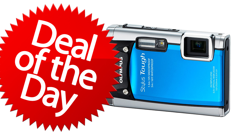 Click here to read This Olympus Stylus 8010 Is Your Clumsy-Proof Gadget Deal of the Day