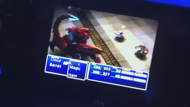 Click here to read Here's Proof That <em>Final Fantasy VII</em> Will Actually Run On Your Vita