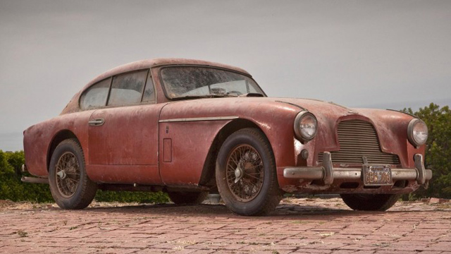Click here to read What's Next For This Barn Find Vintage Aston Martin?