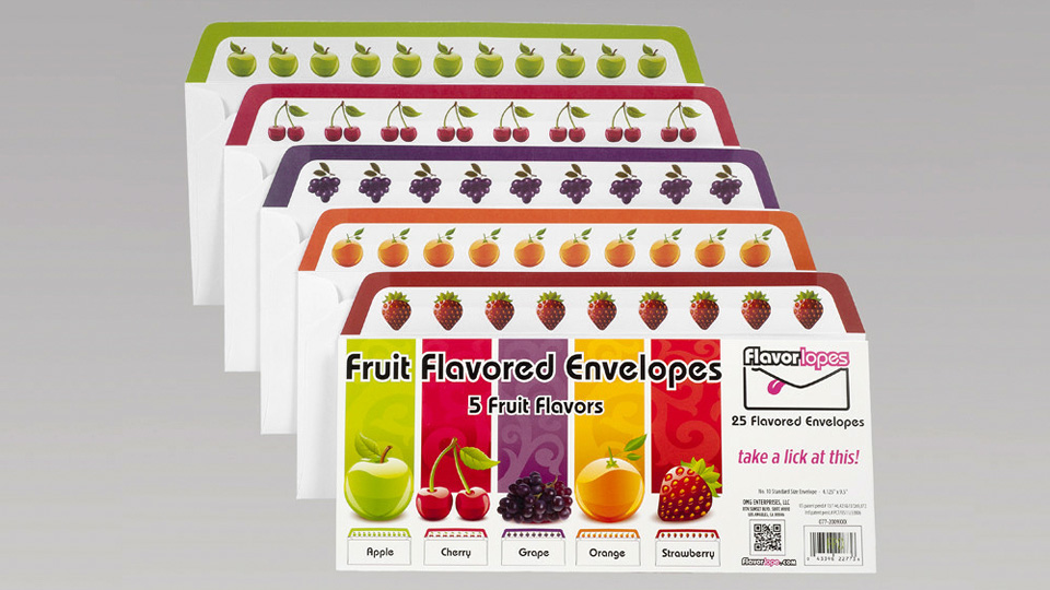 Click here to read Fruit Flavored Envelopes Will Have You Abandoning Email For Handwritten Letters