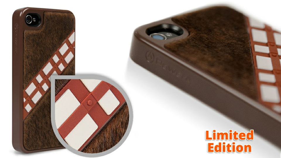 Click here to read There's Finally a Wookiee iPhone Case To Match Your Awesome Chewbacca Hoodie