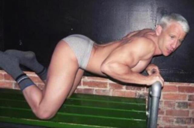 Here's a Photo[Shop] of Anderson Cooper In His Undies That He Probably Didn't Want Anyone To See [Update]