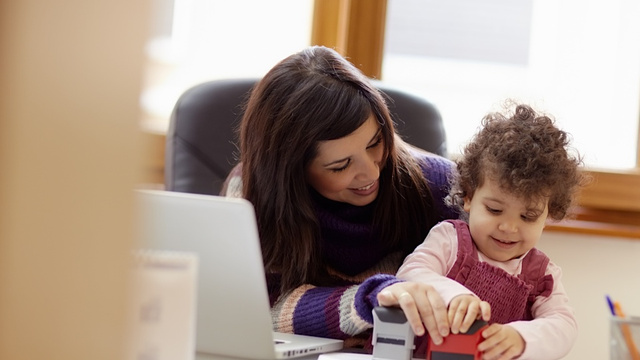 New Moms Can Definitely Run a Tech Start-Up, No Big Deal
