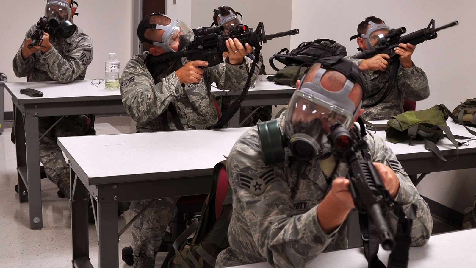 Click here to read Zombie Defense 101 Or US Air Force Students?