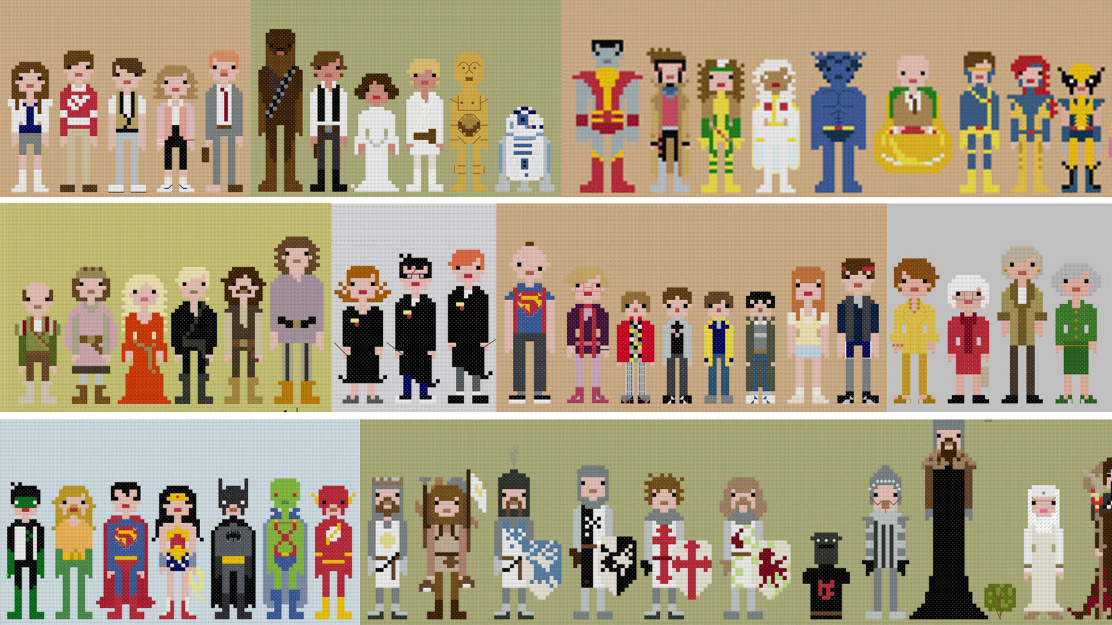 Click here to read I Want All These Impossibly Cool 8-Bit Cross-Stitches