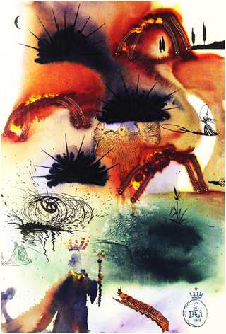 What did Salvador Dalí's Alice in Wonderland look like?