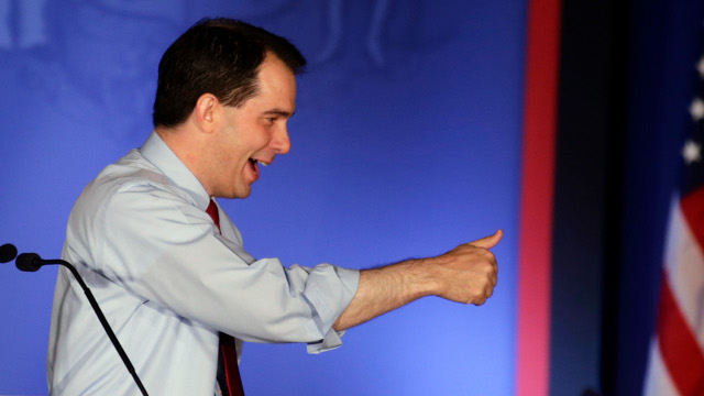 Click here to read Romney Proclaims 'The Message of Wisconsin,' But Scott Walker Disagrees