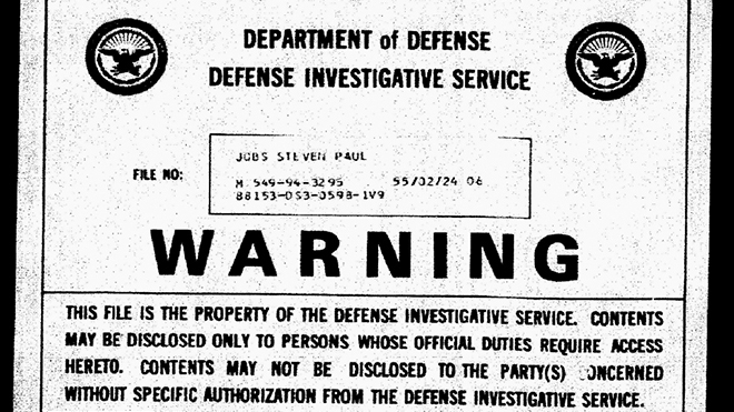 Steve Jobs's Pentagon File: Blackmail Fears, Youthful Arrest And LSD Cubes