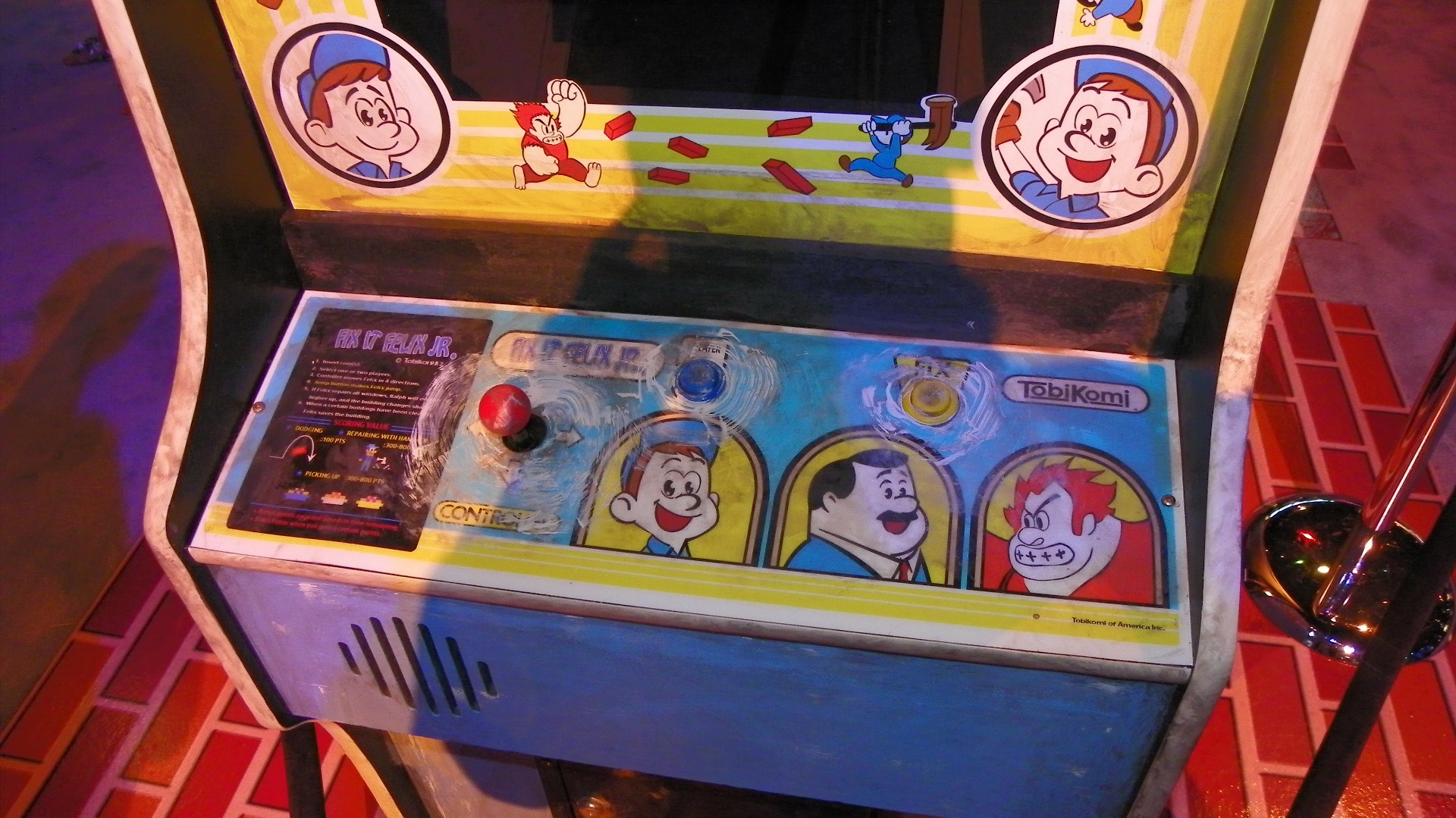 Click here to read Here's the Fake Arcade Classic Disney's New Video Game Movie Comes From
