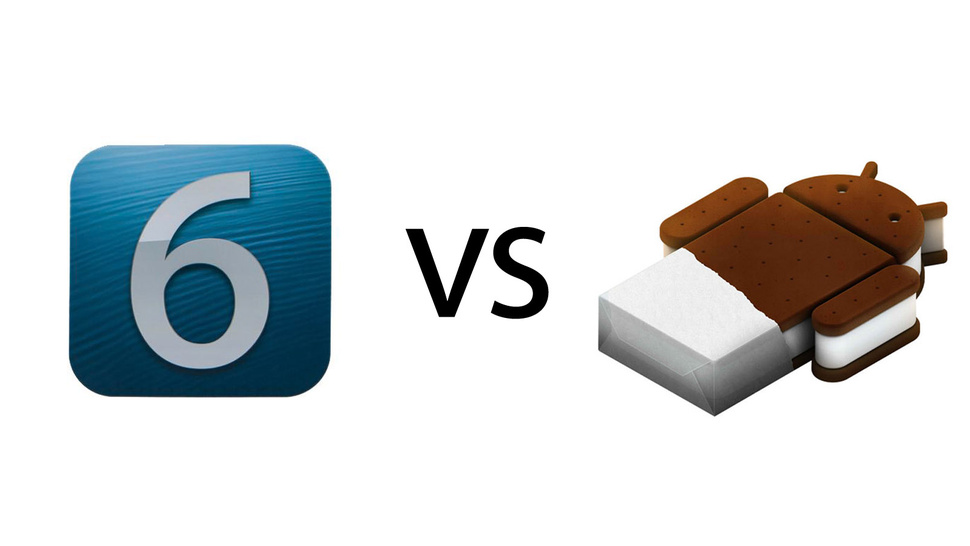 iOS 6 vs. Ice Cream Sandwich: The Ultimate Comparison