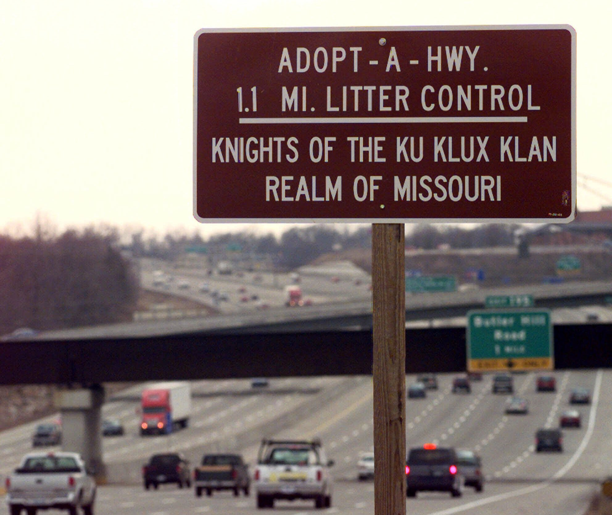 Highway adopted by KK,Interstate 55 south of St. Louis, Missouri