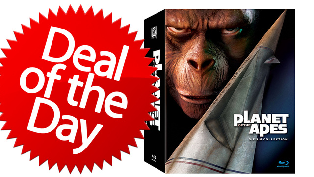 This Planet of the Apes Collection Is Your Get-Your-Hands-Off-Me Deal of the Day