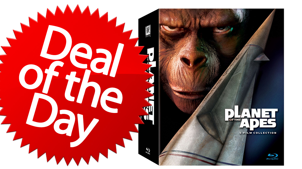 Click here to read This Planet of the Apes Collection Is Your Get-Your-Hands-Off-Me Deal of the Day