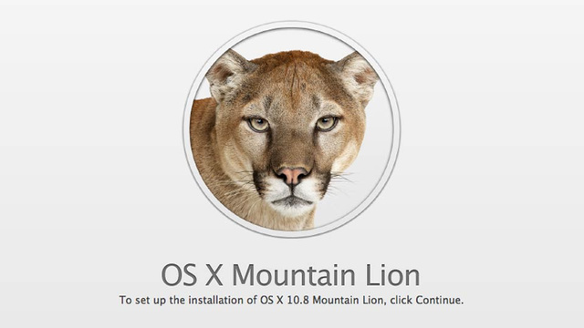 OS X Mountain Lion Coming in July for $19.99