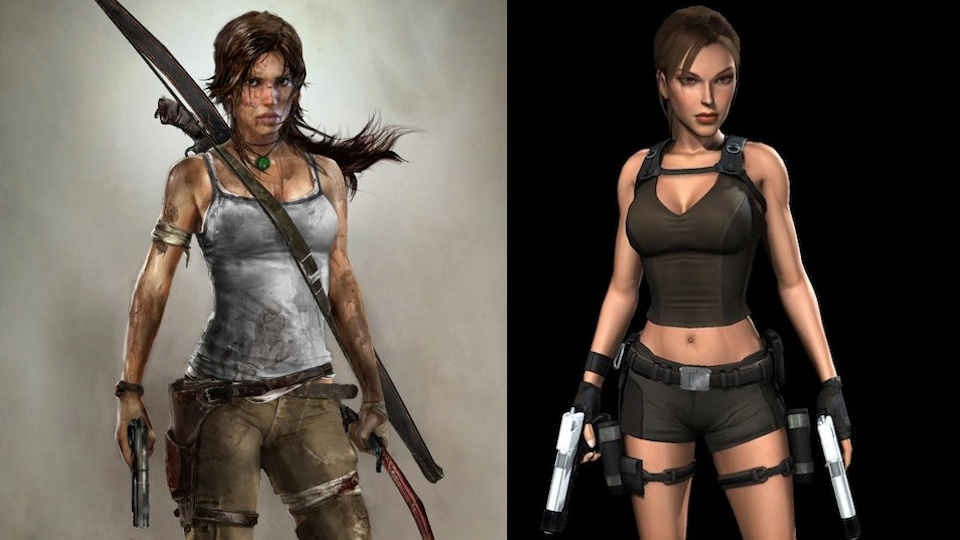 Click here to read You'll 'Want To Protect' The New, Less Curvy Lara Croft