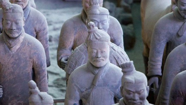 Over 100 Beautifully Preserved Terracotta Warriors Unearthed in China