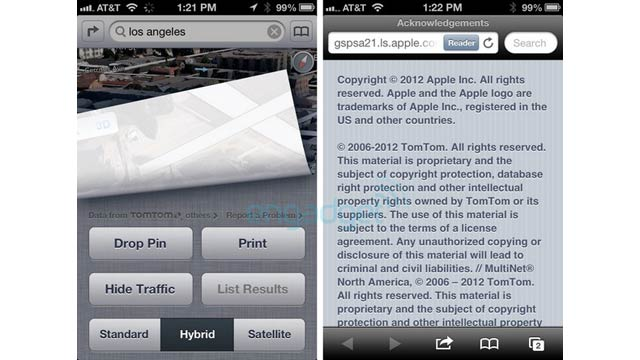 Click here to read Apple's New iOS 6 Maps Are Powered by TomTom