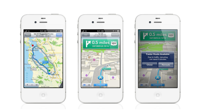 Why There's No Public Transit in iOS 6—Yet