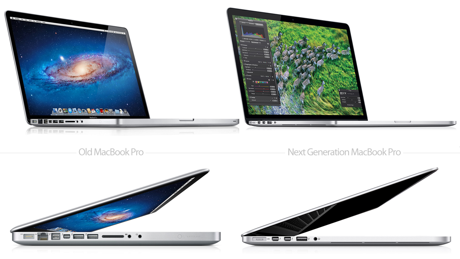 Click here to read The Old and Next Generation MacBook Pro Compared Side By Side—This Is Just Insane