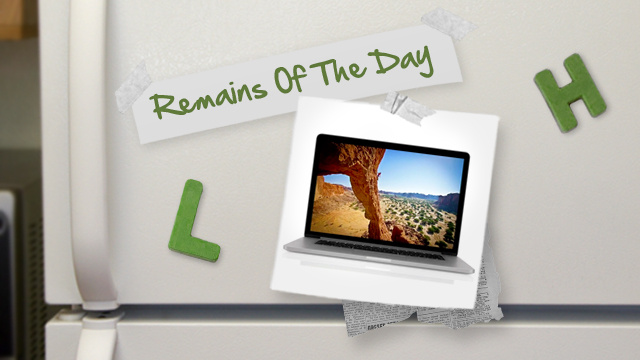 Remains of the Day: Apple Updates MacBook Lineup, Introduces Retina MacBook Pro