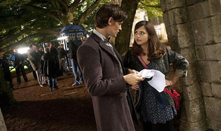 The Second Official Doctor Who Image of the Doctor with His New Companion
