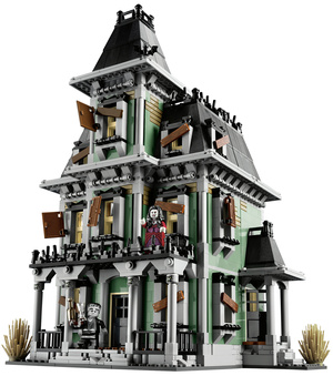 The First Official LEGO Haunted House Arrives in September, and It Is Glorious