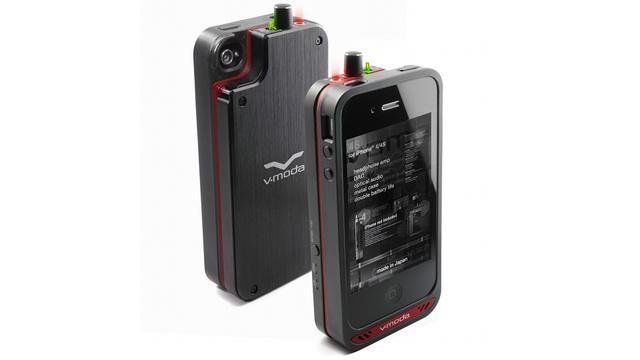 V-Moda Vamp Packs a Headphone Amp and DAC Into an iPhone Case to Make Your Music Sing