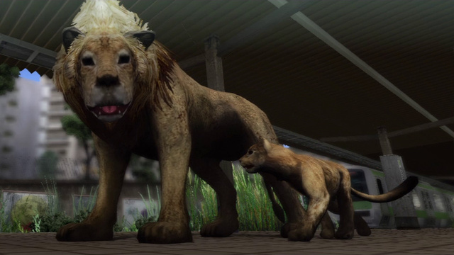 Tokyo Jungle's Twisted Take on the Lion King